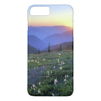 Coque iPhone 7 Plus Coucher du soleil de point d'Obstruciton, NP
