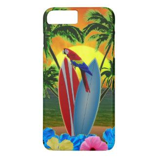 Coque iPhone 7 Plus Coucher du soleil tropical