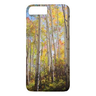Coque iPhone 7 Plus Couleurs de chute des arbres 5 d'Aspen