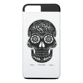 Coque iPhone 7 Plus Crâne dans votre couverture la poche de crâne