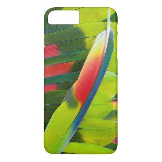 Coque iPhone 7 Plus D'Amazone de perroquet de plume toujours la vie