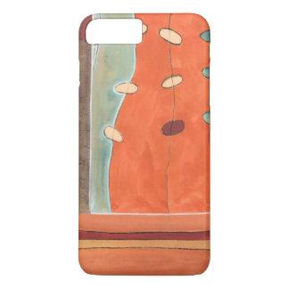 Coque iPhone 7 Plus Défilé abstrait des oeufs par Bruyère J Vess