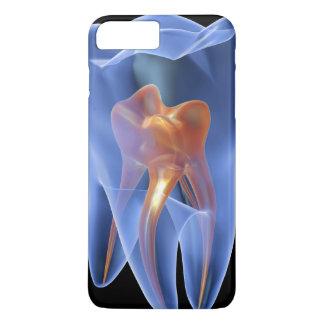 Coque iPhone 7 Plus Dent, section transversale transparente d'une