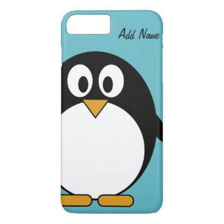 Coque iPhone 7 Plus Dessin mignon de Kawaii de pingouin de bande