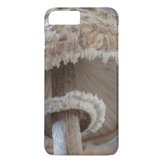 Coque iPhone 7 Plus Dessous en gros plan de champignon