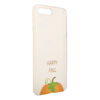 Coque iPhone 7 Plus Dessus de citrouille