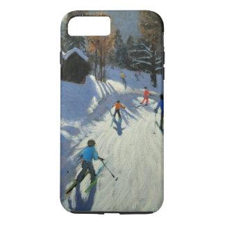 Coque iPhone 7 Plus Deux huttes Pleney Morzine de montagne
