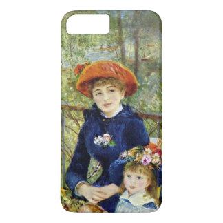Coque iPhone 7 Plus Deux soeurs (sur la terrasse) par Pierre Renoir