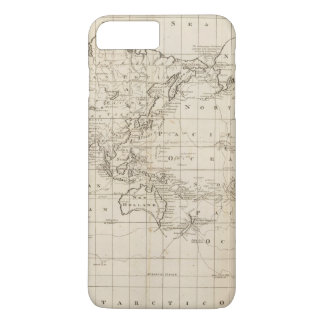 Coque iPhone 7 Plus Diagramme du monde