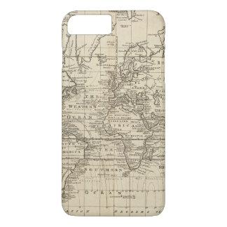 Coque iPhone 7 Plus Diagramme du monde