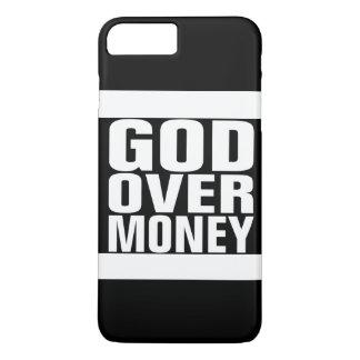 Coque iPhone 7 Plus Dieu au-dessus d'argent