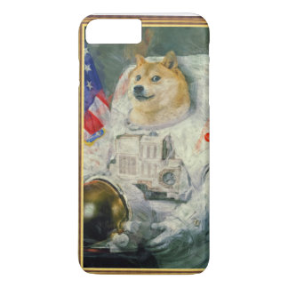 Coque iPhone 7 Plus Doge d'astronaute