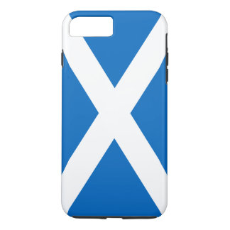 Coque iPhone 7 Plus Drapeau de cas dur de l'iPhone 7 de l'Ecosse