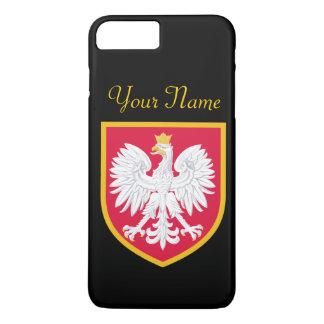 Coque iPhone 7 Plus Drapeau de la Pologne