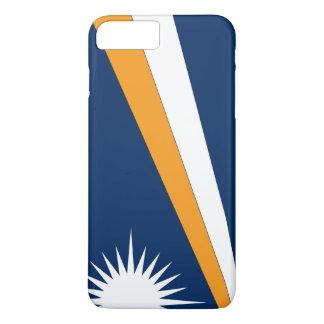 Coque iPhone 7 Plus Drapeau des Marshall Islands