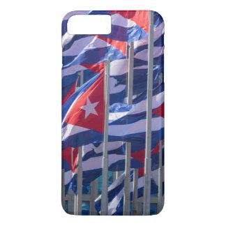 Coque iPhone 7 Plus Drapeaux cubains, La Havane, Cuba
