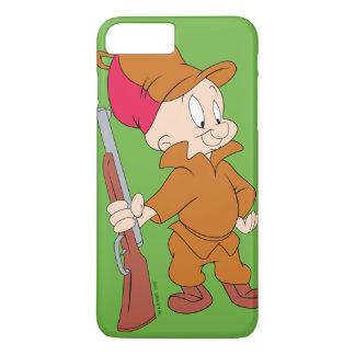 Coque iPhone 7 Plus ELMER FUDD™ | avec l'arme à feu