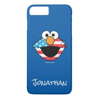 Coque iPhone 7 Plus Elmo patriote | votre nom
