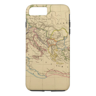 Coque iPhone 7 Plus Empire romain sous Constantine et Trajan