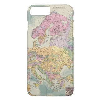 Coque iPhone 7 Plus Europa - carte géologique de l'Europe