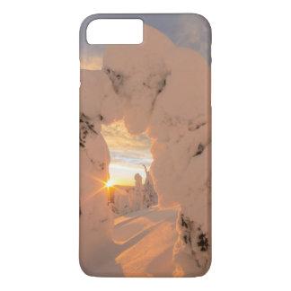 Coque iPhone 7 Plus Fantômes de neige dans la chaîne de poisson à