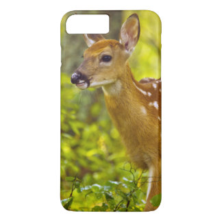 Coque iPhone 7 Plus Faon de cerf de Virginie en poisson à chair