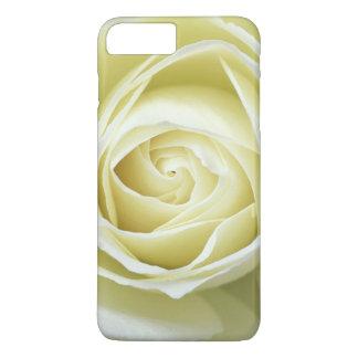 Coque iPhone 7 Plus Fermez-vous vers le haut des détails du rose blanc
