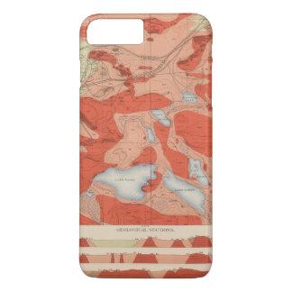 Coque iPhone 7 Plus Feuille détaillée XXVIII de géologie