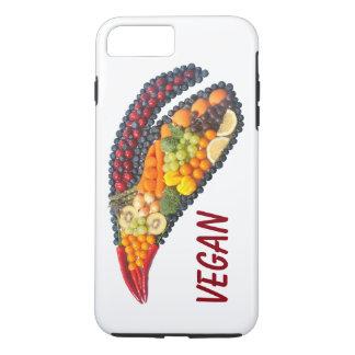 Coque iPhone 7 Plus Feuille végétalienne