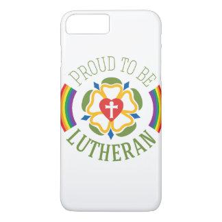 """Coque iPhone 7 Plus """"Fier d'être"""" cas plus de l'iPhone 7 luthériens"""