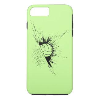 Coque iPhone 7 Plus Filet d'éclaboussure de volleyball