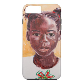 Coque iPhone 7 Plus Fille africaine
