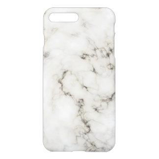 Coque iPhone 7 Plus Finition en pierre de marbre ene ivoire de bois