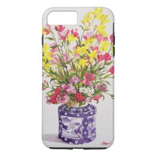 Coque iPhone 7 Plus Fleurs dans un pot chinois