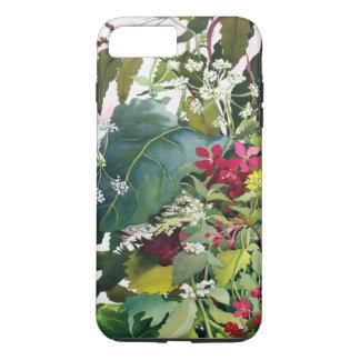 Coque iPhone 7 Plus Fleurs sauvages avec la consoude et la lychnide