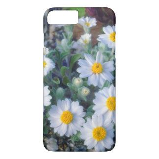 Coque iPhone 7 Plus Fleurs sauvages de marguerite laineuse