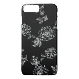 Coque iPhone 7 Plus Fleurs surdimensionnées de pivoines