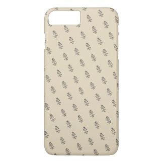 Coque iPhone 7 Plus GARDEZ le CALME ET CONTINUEZ/Tan