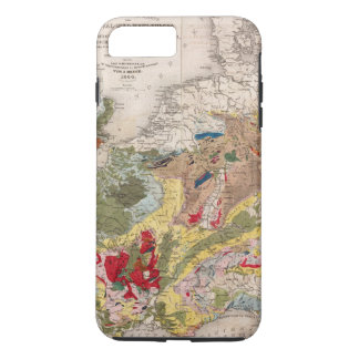 Coque iPhone 7 Plus Géologie de l'Europe