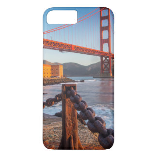 Coque iPhone 7 Plus Golden gate bridge de point de fort