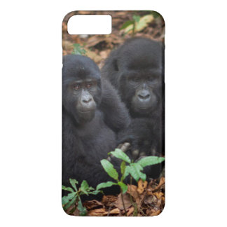 Coque iPhone 7 Plus Gorilles de montagne, parc national de volcans