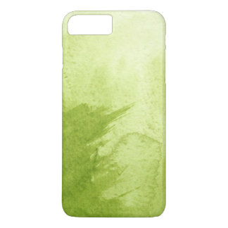 Coque iPhone 7 Plus grand arrière - plan d'aquarelle - peintures
