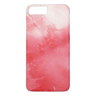 Coque iPhone 7 Plus grand arrière - plan d'aquarelle - peintures 3
