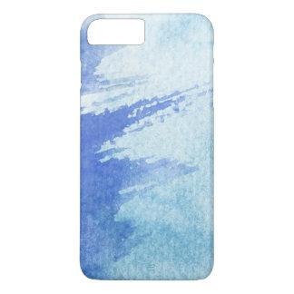 Coque iPhone 7 Plus grand arrière - plan d'aquarelle - peintures 4