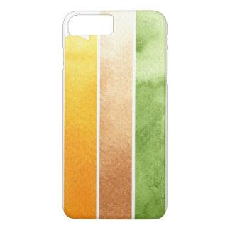 Coque iPhone 7 Plus grand arrière - plan d'aquarelle - peintures 5