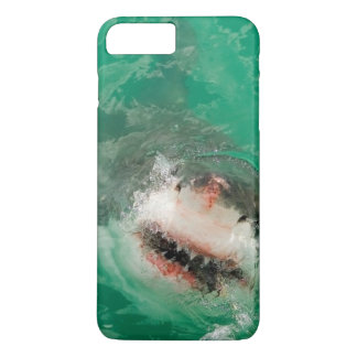 Coque iPhone 7 Plus Grand blanc Shark1