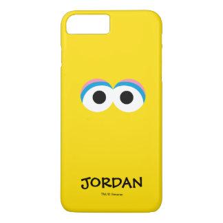Coque iPhone 7 Plus Grand visage | de grand oiseau votre nom