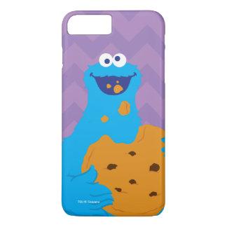 Coque iPhone 7 Plus Graphique de monstre de biscuit