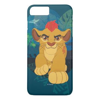Coque iPhone 7 Plus Graphique de safari de la garde | Kion de lion