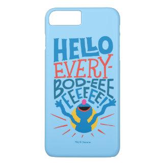 Coque iPhone 7 Plus Grover bonjour